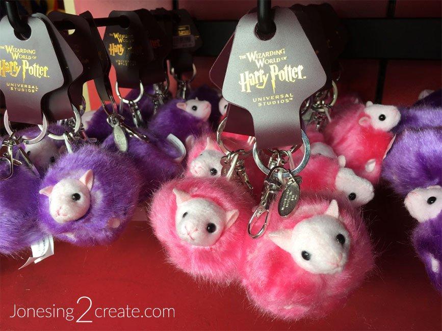 Universal Studios Pygmy Puff Keychains