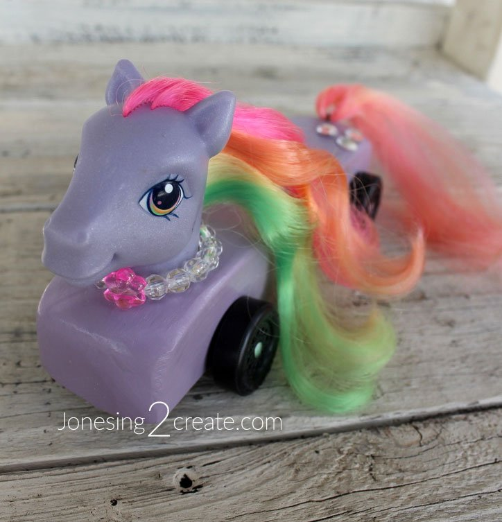 My Little Pony Pinewood Derby Car