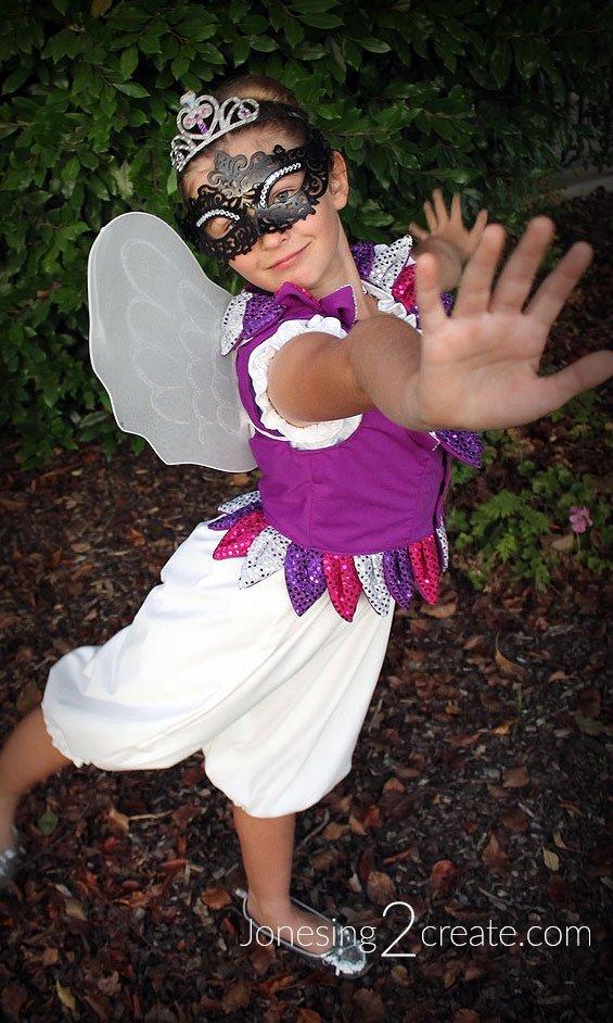DIY Fairy Princess Costume for Kids