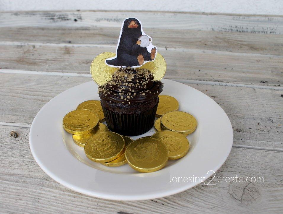 Niffler Cupcakes