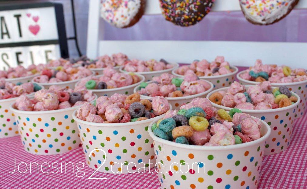 Donut Popcorn Mix
