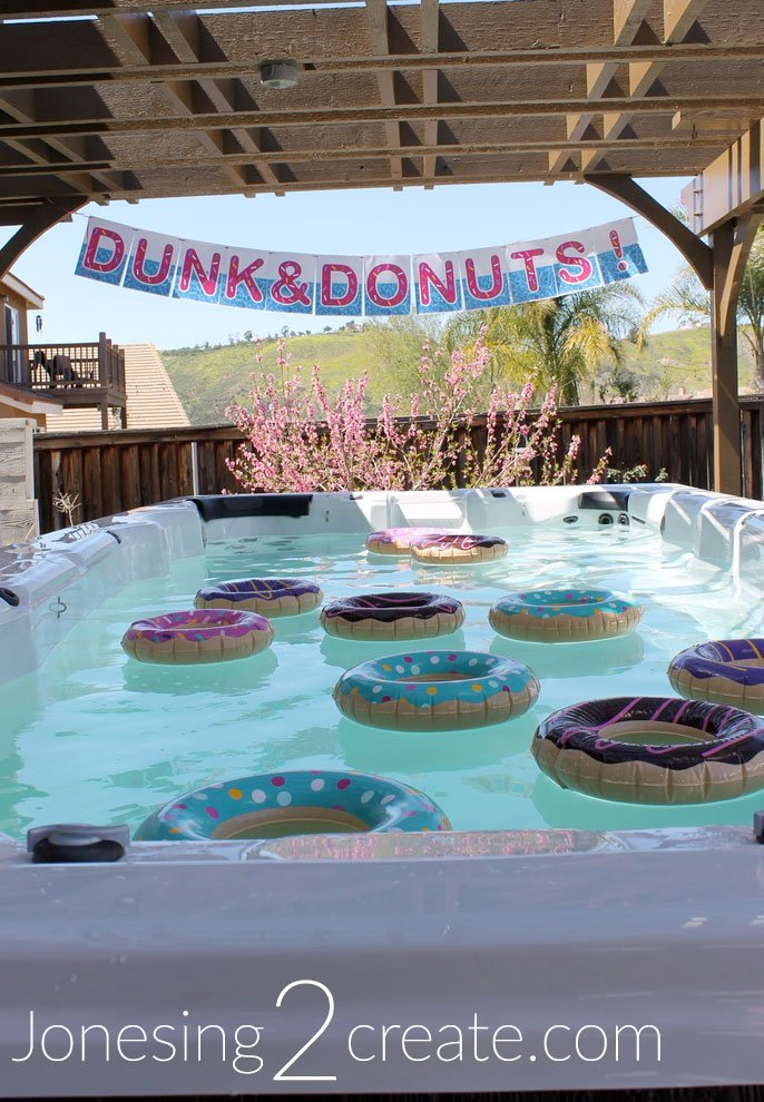 Dunk and Donuts Birthday Party