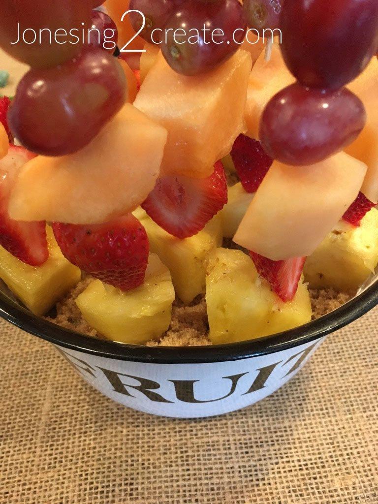 Sandy Fruit Kabobs