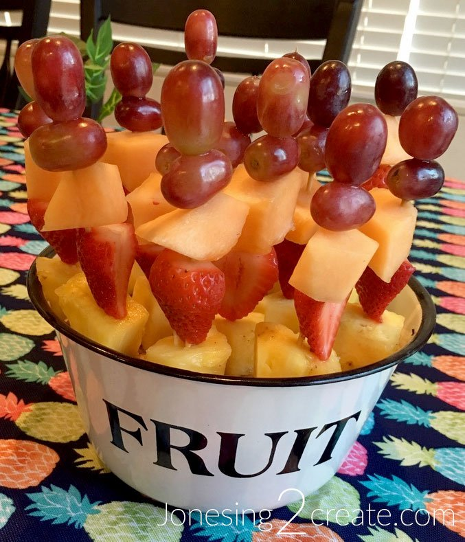 Beach Party Fruit Kabobs Recipe