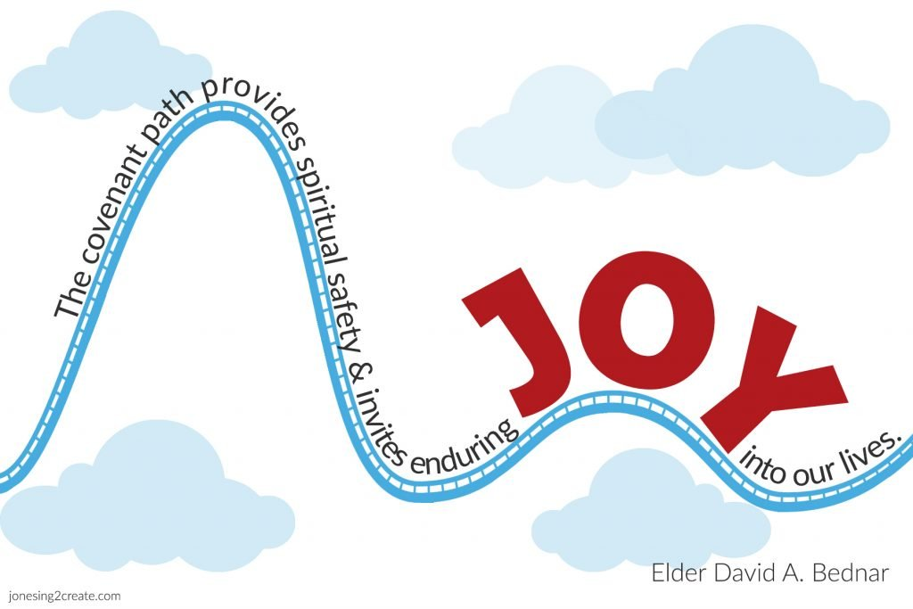 Elder Bednar quote on joy