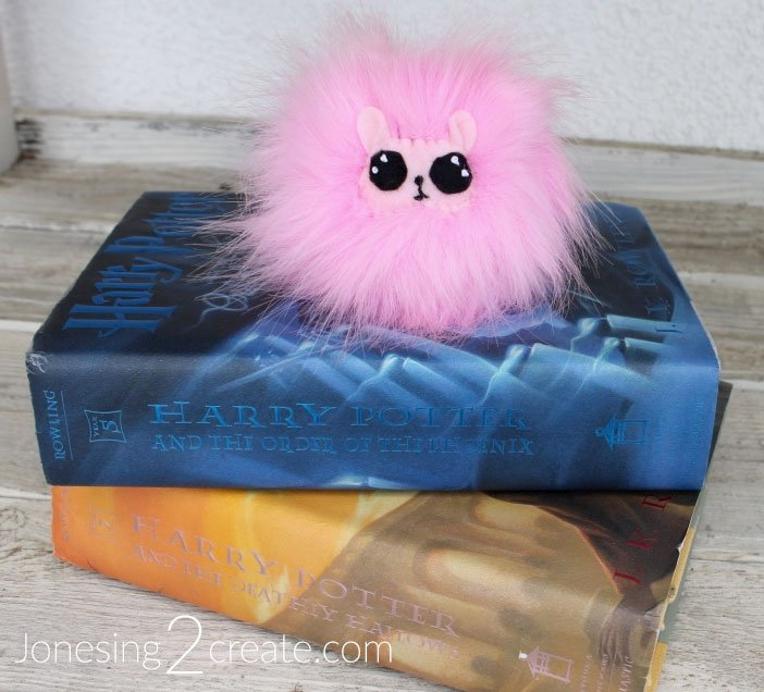 Pygmy Puff on Harry Potter Books