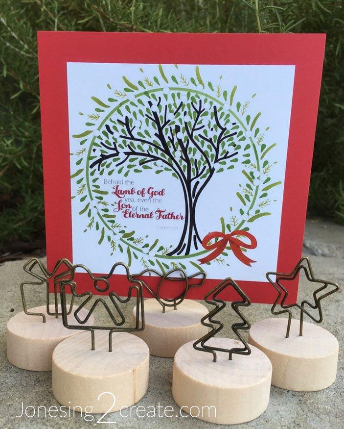 Tree of Life Christmas Wreath Printable