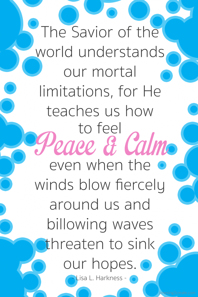 Peace and Calm Harkness Quote