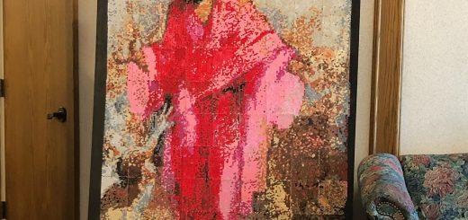 Girls' Camp Activity – Minerva Teichert Paint by Number Pointillism